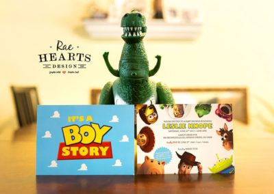 Toy Story Baby Shower Invitation