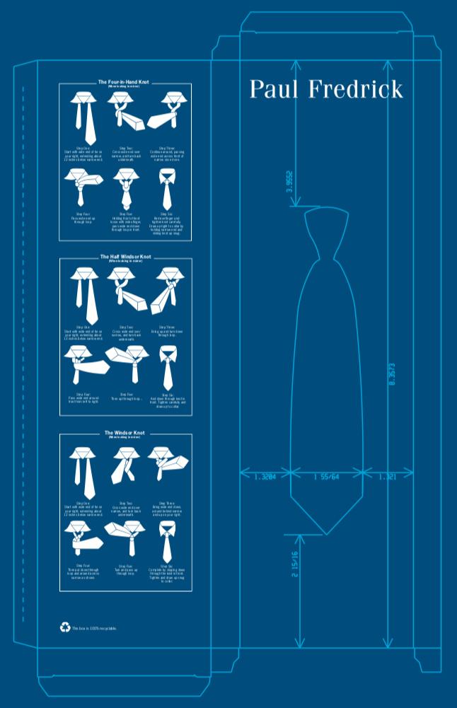 Necktie Box Vector Design
