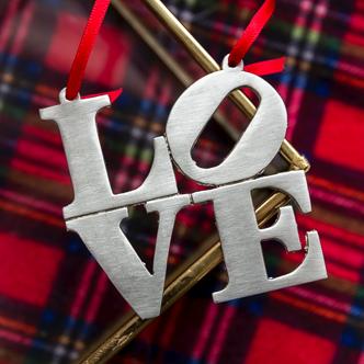 rae love ornament